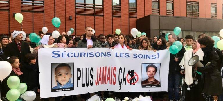 Appendicite mortelle au CHIC de Créteil: émouvante marche blanche pour Farès et Merkis