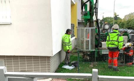 Fissures: un second immeuble sous surveillance dans le quartier Mont-Mesly de Créteil