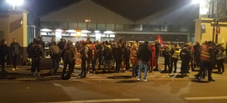 Mouvement social retraites en Val-de-Marne: léger repli en attendant les annonces