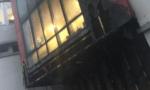 Incendie à l'école Octobre d'Alfortville
