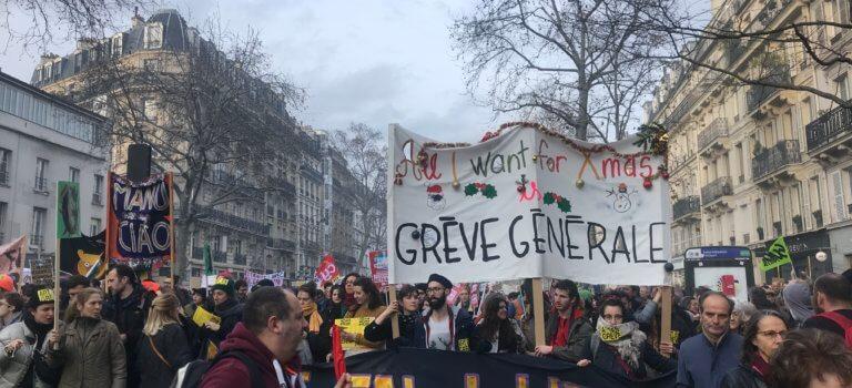 D'Ivry-sur-Seine à la Nation: une journée de mobilisation
