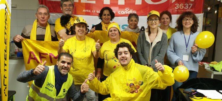 Téléthon 2020 en Val-de-Marne: les bénévoles se mettent à poil