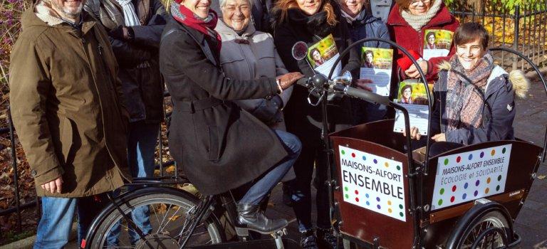 Municipales à Maisons-Alfort : réunion de Cécile Panassac