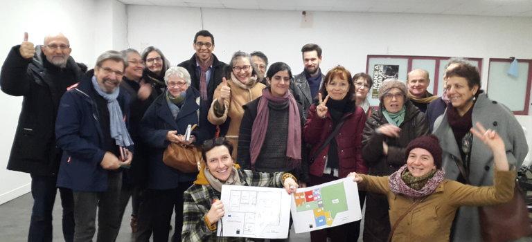 Réunion d'information sur l'ouverture de l'épicerie Coop'Cot à Créteil