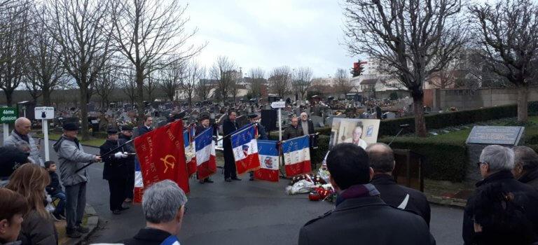 A Vitry-sur-Seine, l'héritage politique du résistant André Serres salué