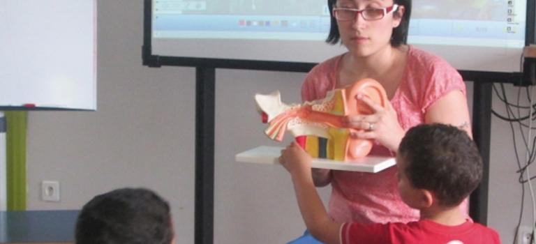 Atelier Mission radeau à l'Exploradôme à Vitry-sur-Seine