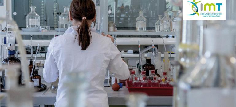 Se former dans l'industrie pharmaceutique et cosmétique