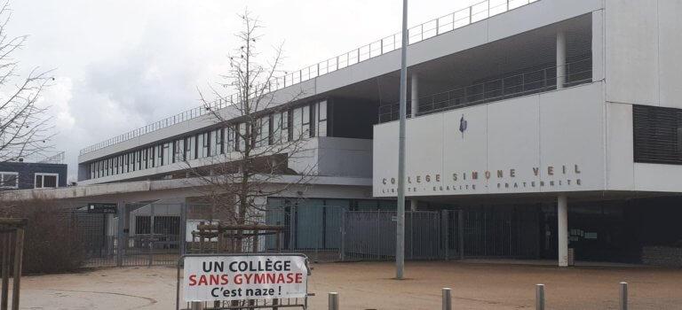A Mandres-les-Roses, on fête le collège et on réclame un gymnase