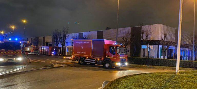Bonneuil-sur-Marne : incendie dans un entrepôt alimentaire, un blessé léger