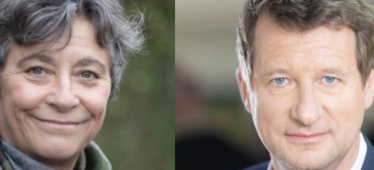 Municipales à Villejuif : Yannick Jadot vient soutenir Natalie Gandais.