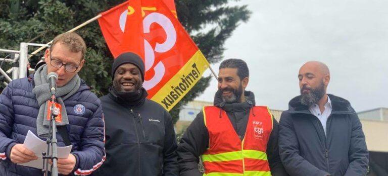 Vitry-sur-Seine: nouveau rassemblement pour soutenir un gréviste de la RATP
