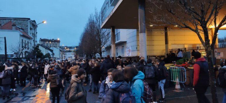 Epreuves anticipées du bac: plusieurs blocages de lycées en Val-de-Marne