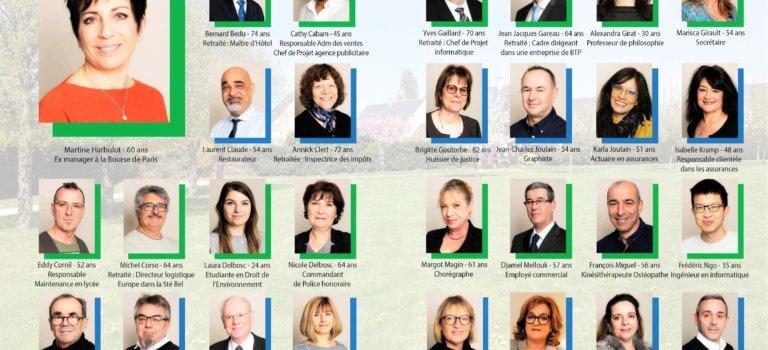 Municipales 2020 à Marolles-en-Brie: liste de Martine Harbulot