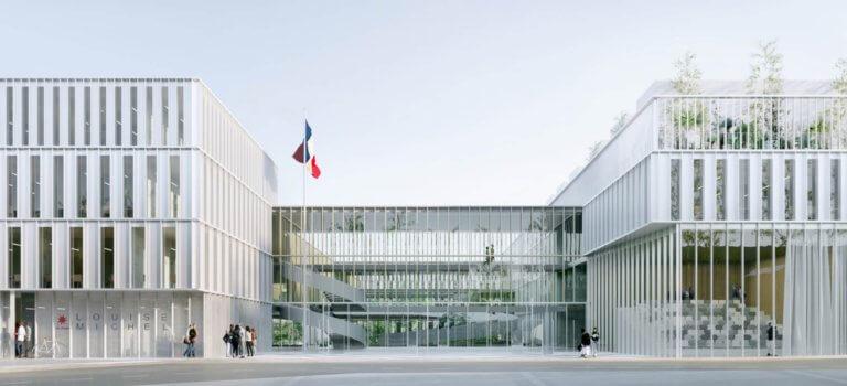 A Champigny-sur-Marne, les lycées Louise Michel et Langevin Wallon seront entièrement restructurés