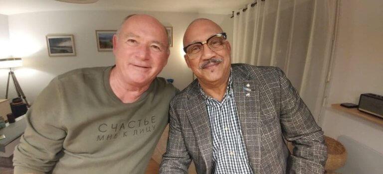 L'Haÿ-les-Roses: deux anciens combattants se retrouvent 42 ans après leur mission au Liban