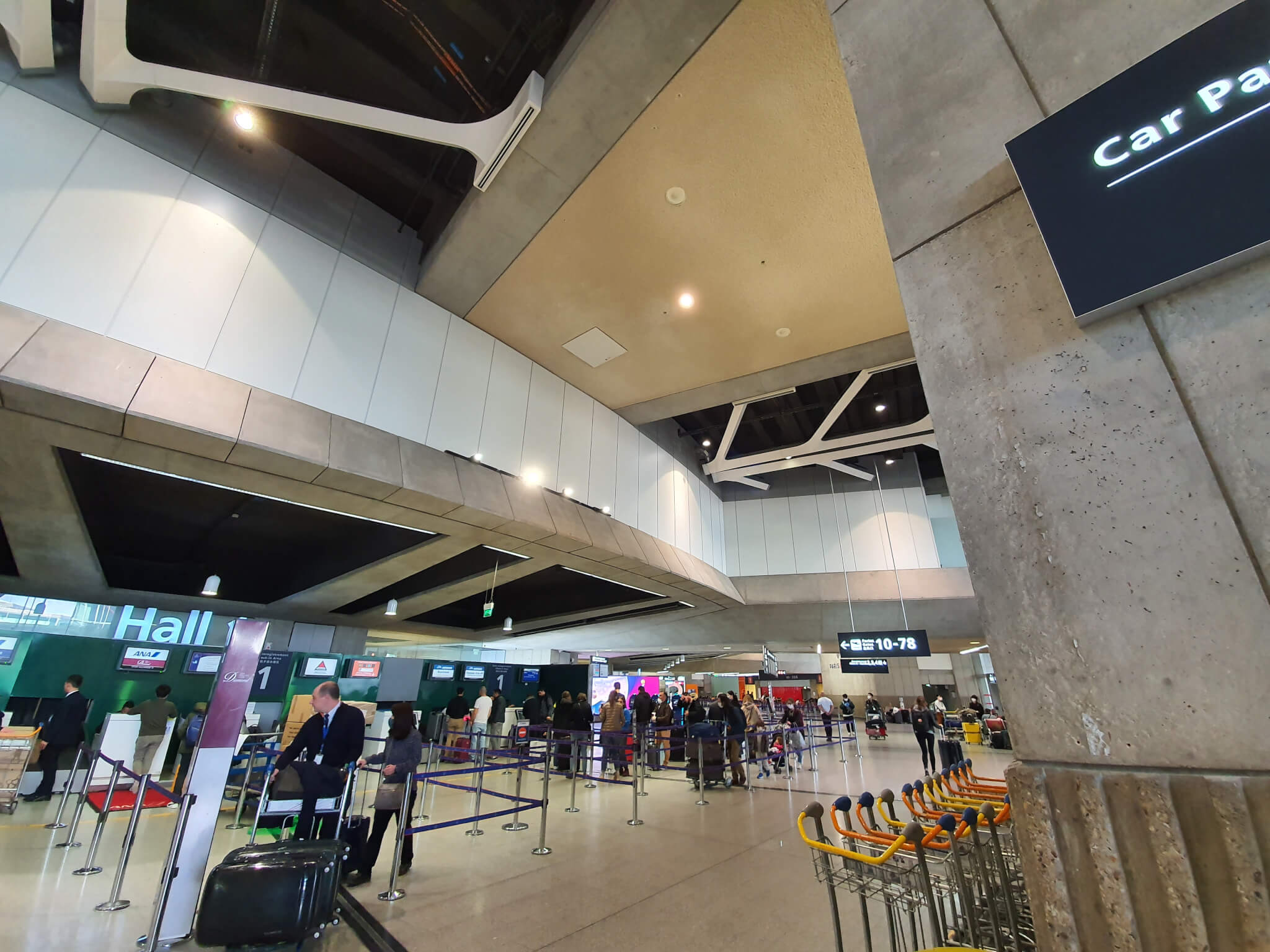 Le trafic des aéroports  parisiens en chute libre