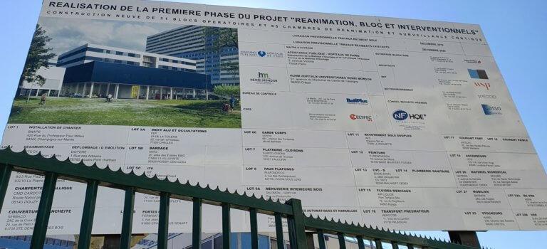 Dassault finance l'ouverture anticipée du nouveau bâtiment RBI au CHU Mondor de Créteil