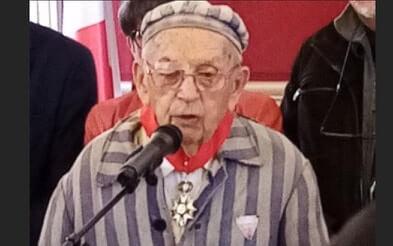 Maisons-Alfort: le résistant déporté Jean Villeret fait commandeur de la Légion d'honneur