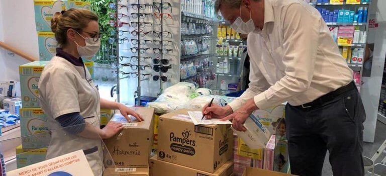 Ile-de-France: la région offre 3,6 millions de masques aux pharmacies