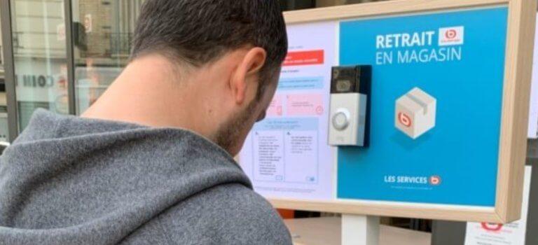 Boulanger lance un service de drive sans contact à Créteil et Villiers-sur-Marne