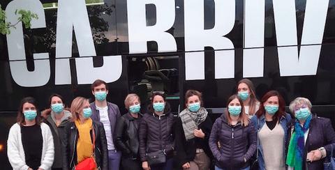 Des soignants de Brive-La Gaillarde en renfort à l'hôpital Henri-Mondor de Créteil