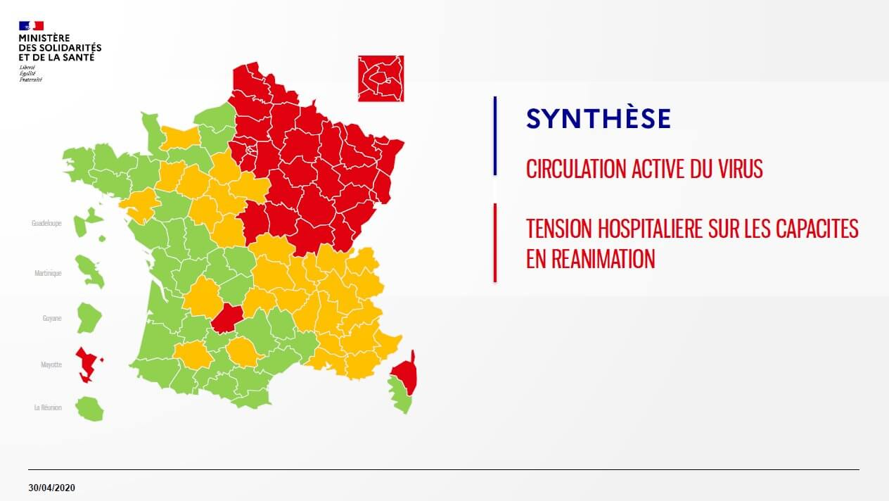 Déconfinement: pourquoi l'Ile-de-France est dans le rouge