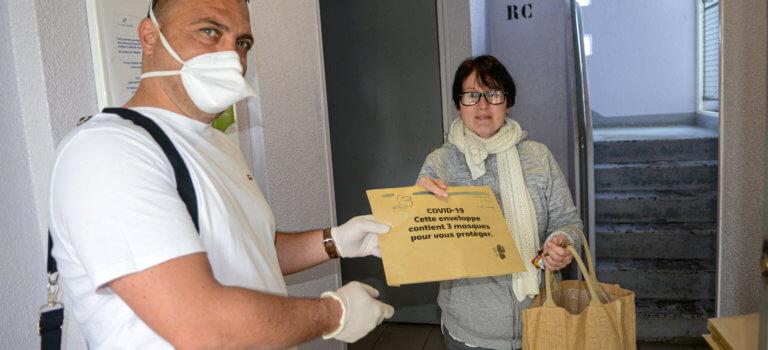 Bonneuil-sur-Marne distribue 3 masques par foyer