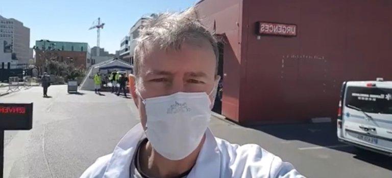 Mondor Créteil: un infirmier appelle les enseignes de bricolage à donner masques et combis