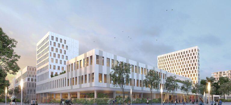 Zac Ivry Confluences: Bouygues construira le 2ème groupe scolaire et une résidence étudiante