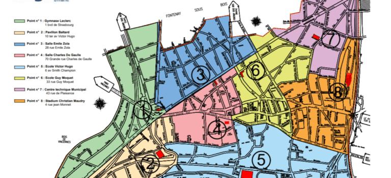 Nogent-sur-Marne, distribution des masques par quartier les 4 et 5 mai