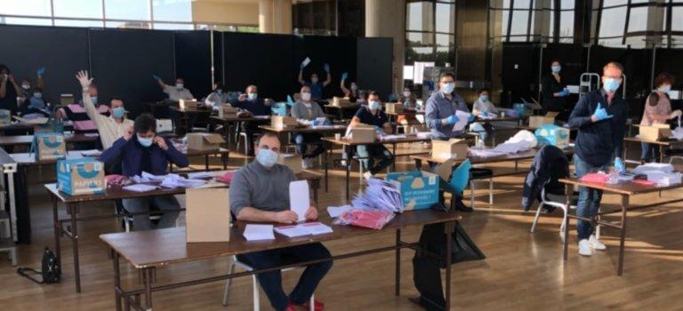 A Joinville-le-Pont, les masques en tissu ont été livrés aux habitants