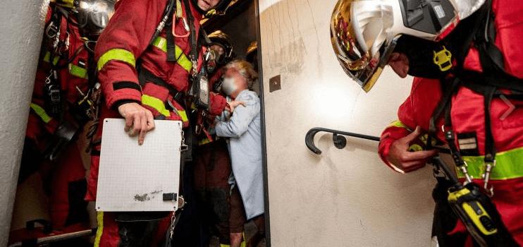 Incendie à Epinay-sur-Seine : 10 blessés dont un enfant en état grave