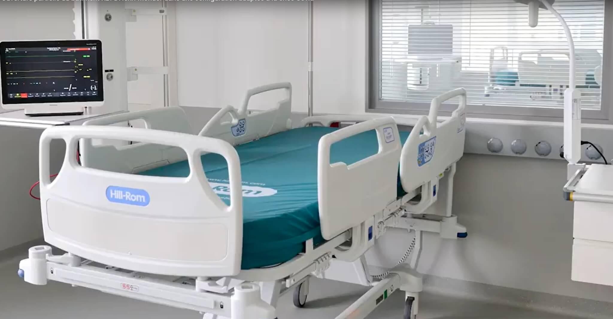 A Créteil, l'hôpital Henri Mondor se résigne à la 4ème vague de Covid
