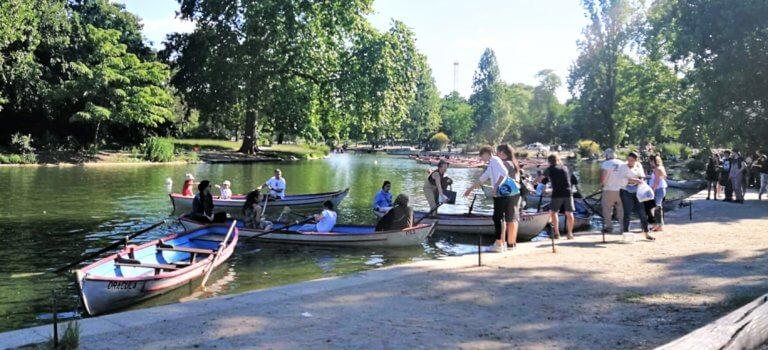 Gros succès pour la réouverture des barques au Bois de Vincennes