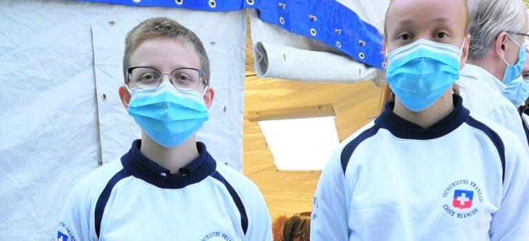 Créteil: l'hôpital Mondor ouvre son drive de dépistage du coronavirus