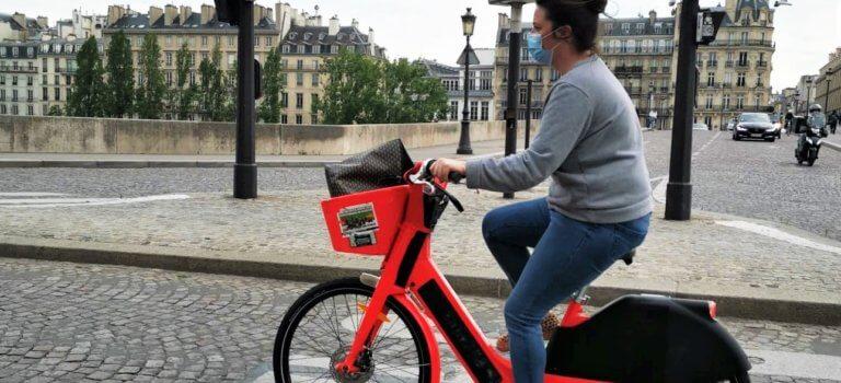 Ile-de-France: le «monde d'après» commence à bicyclette