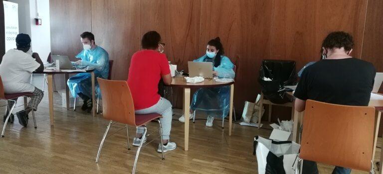 Succès pour le dépistage du coronavirus sans rendez-vous à Bonneuil-sur-Marne