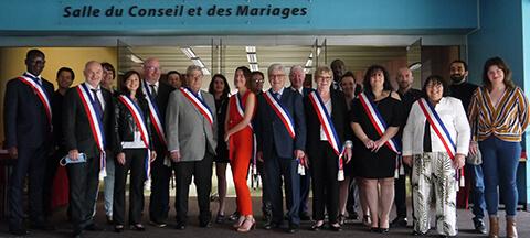 La Queue-en-Brie : Jean-Paul Faure-Soulet installe sa nouvelle équipe