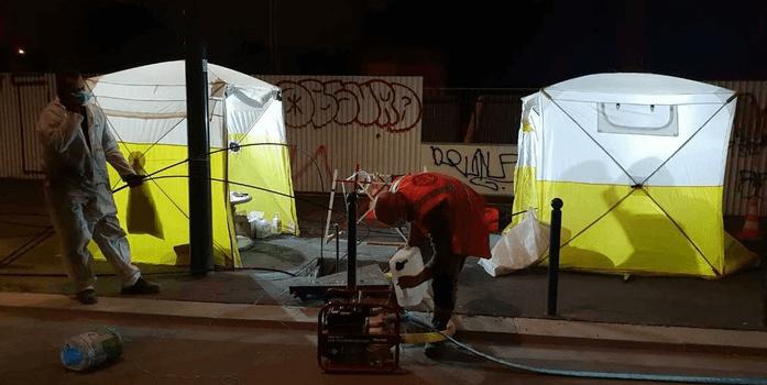 Câbles Orange coupés en Val-de-Marne: un préjudice estimé à 1 million d'euros