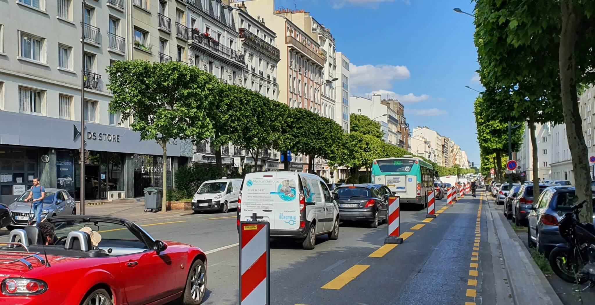 Pistes cyclables temporaires: + 300% de vélos à Vincennes