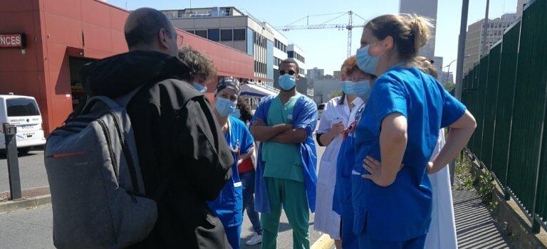 Le ras-le-bol des aides soignantes à l'hôpital Henri-Mondor de Créteil