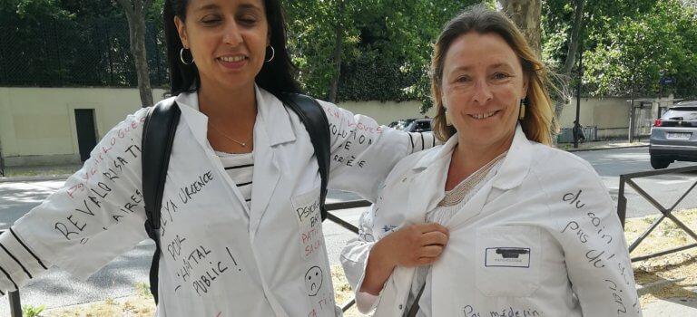 Manifestation des soignants à Paris: «Nous sommes redevenus des invisibles»