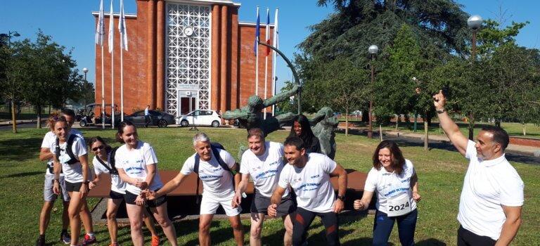 Marathon de la solidarité: les sportifs ont couru pour les soignants