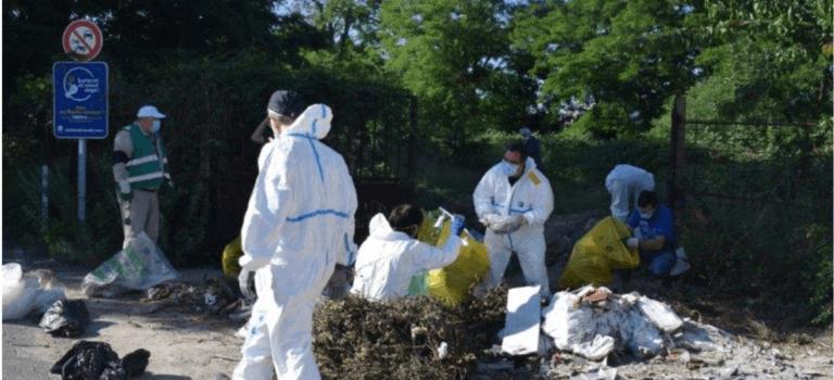 Ose retire 5 tonnes de déchets à Villeneuve-Saint-Georges et appelle au soutien des communes