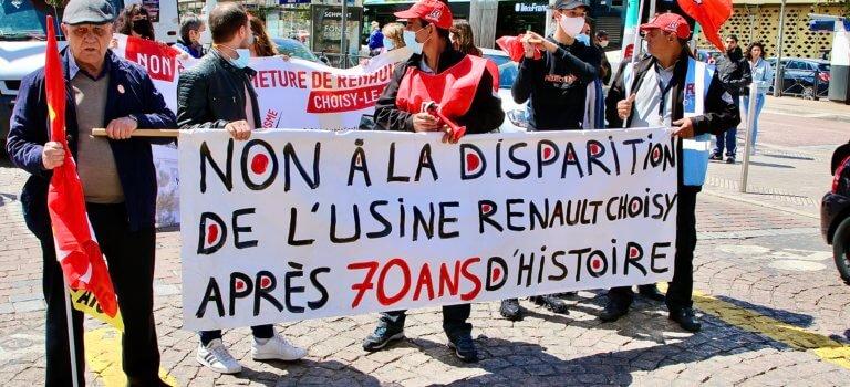 Usine Renault de Choisy-le-Roi: accord avec les syndicats pour transférer l'activité