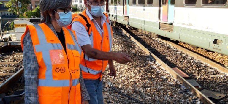 Paris: enquête interne après le déraillement du RER B