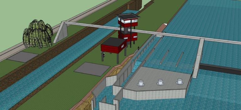 Alfortville: une centrale hydroélectrique au barrage du Port-à-l'Anglais