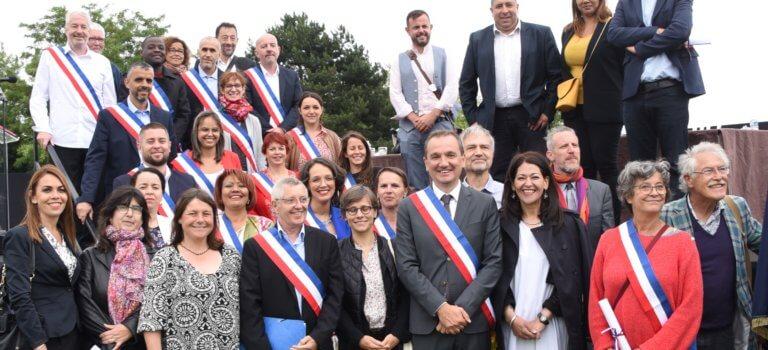 Exécutif municipal 2020 à Villejuif