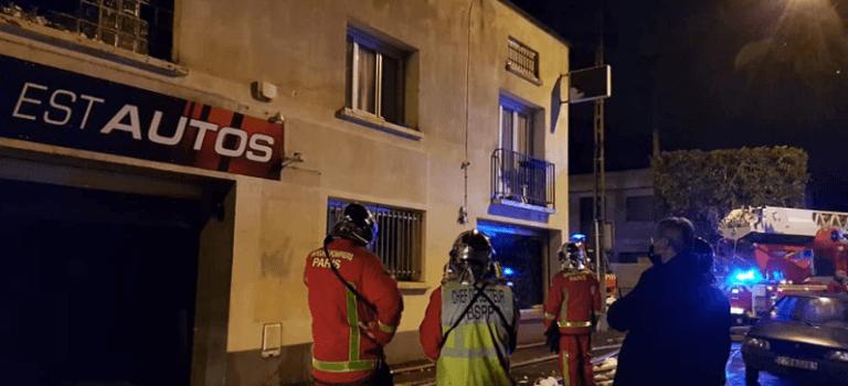 Violent incendie de garage à Champigny-sur-Marne : pas de blessés mais des dégâts
