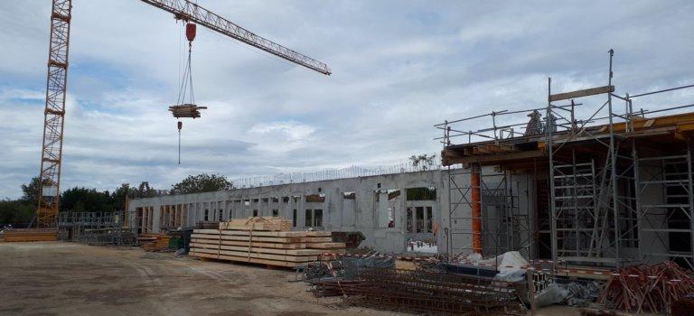 Le nouveau collège de Valenton devrait être prêt pour septembre 2021